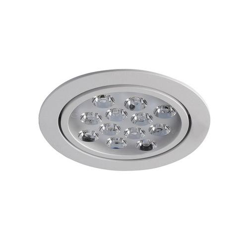 Zapuštěná stropní lampa LED s bílým roztečí