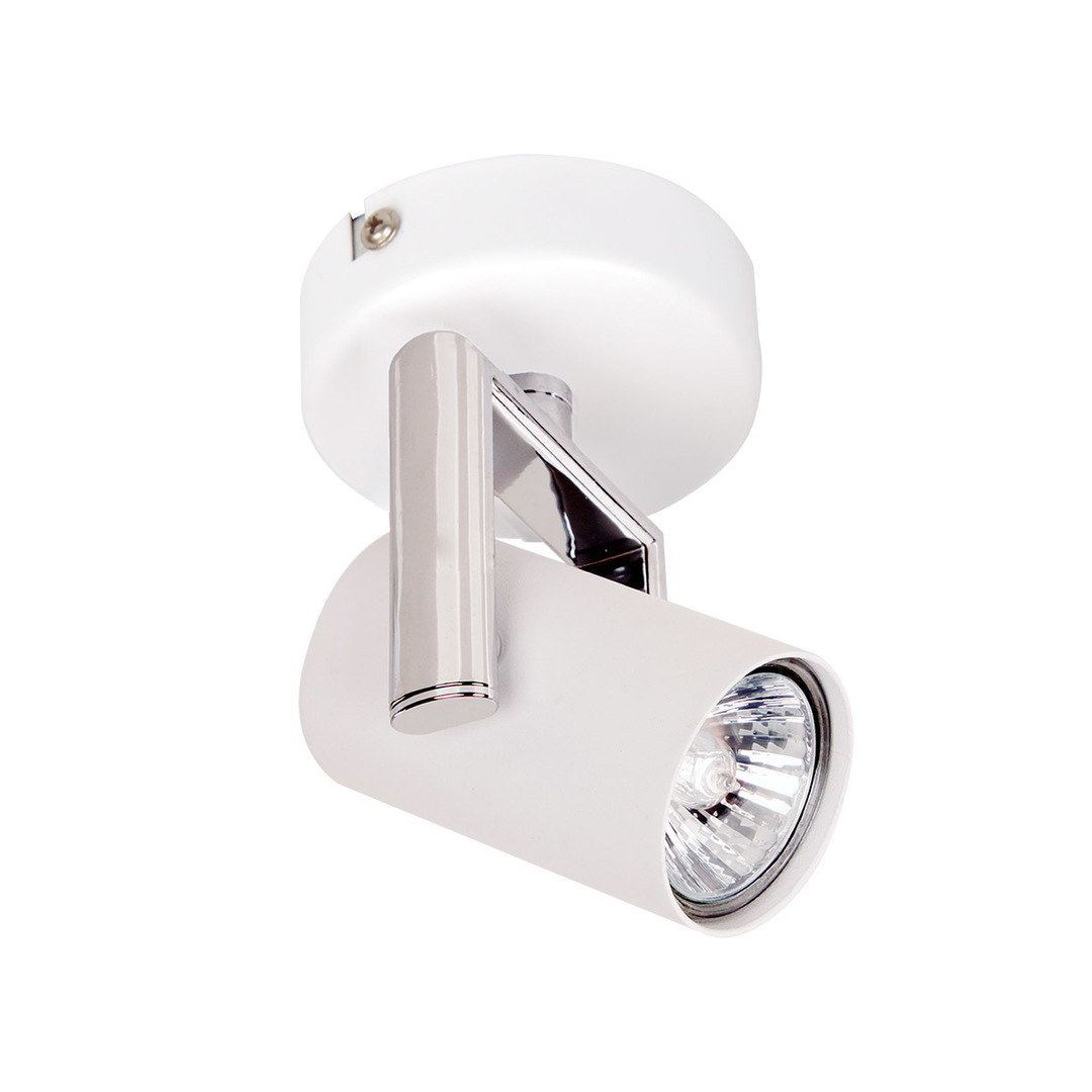 Moderní bílý reflektor Bland GU10