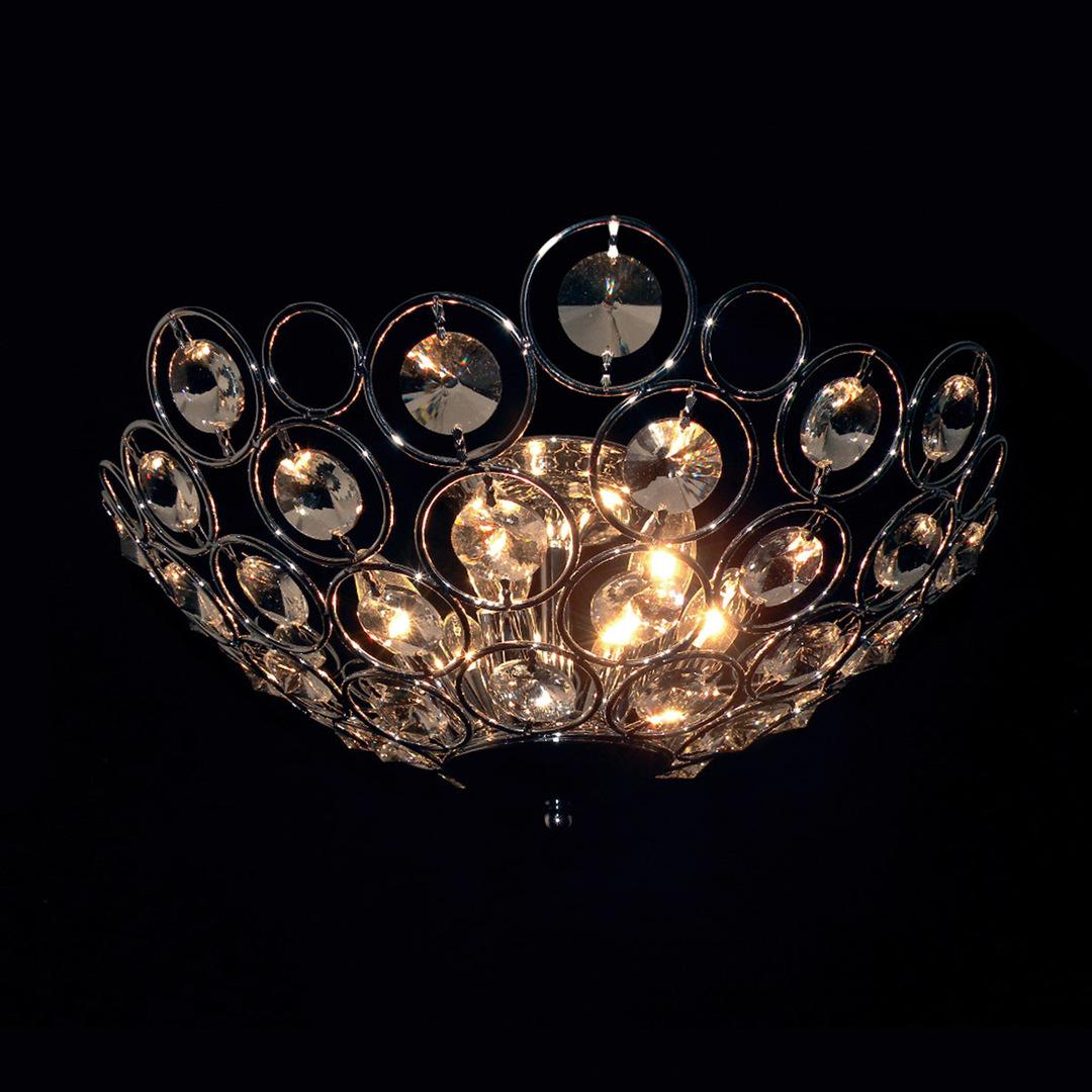 Klasické 6bodové stropní svítidlo Kalila E14