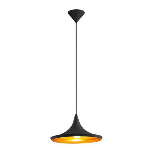 Černá závěsná lampa Maya E27