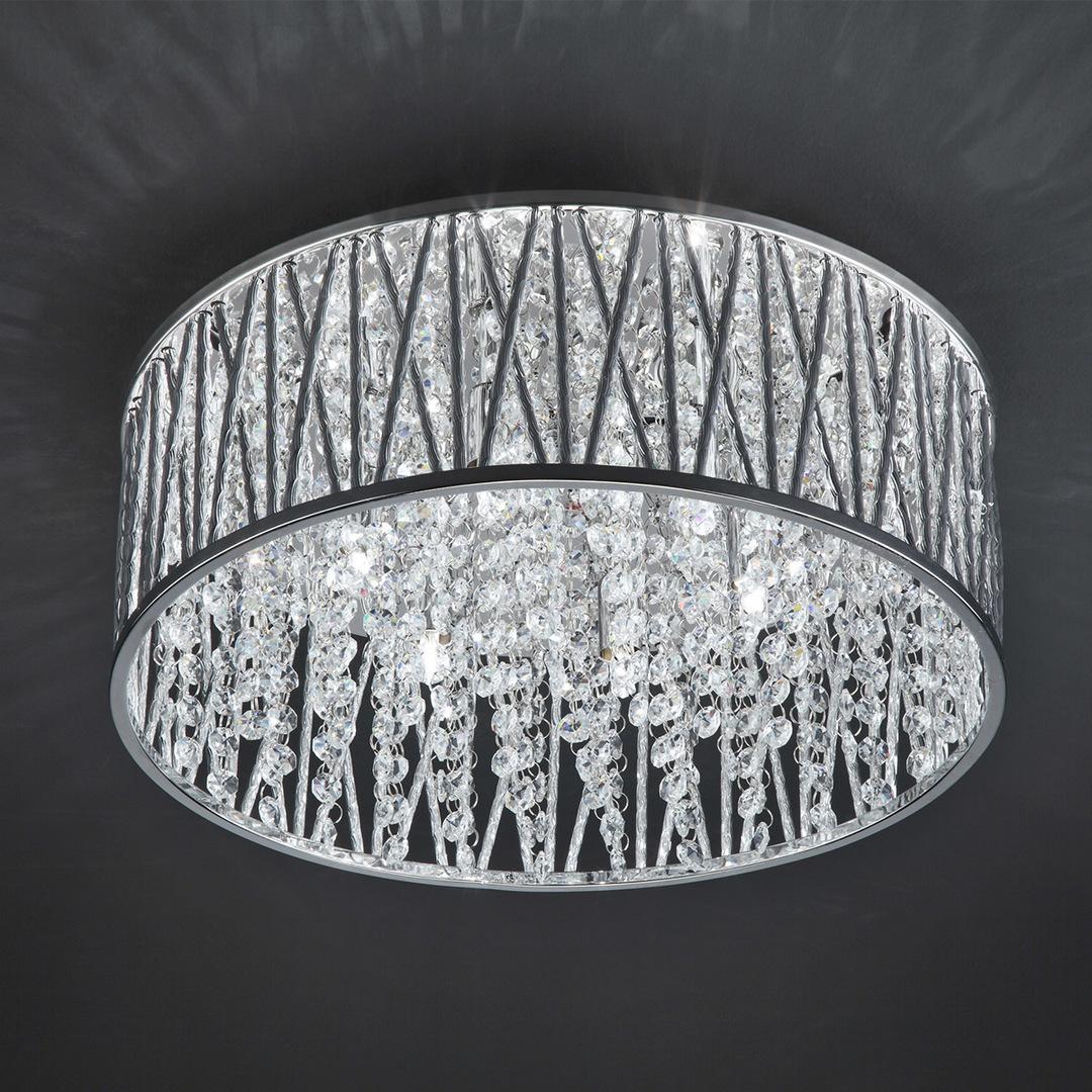 Moderní 6bodové stropní svítidlo Vanessa G9