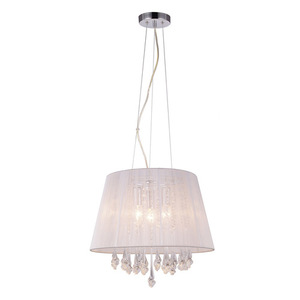 Bílá závěsná lampa Isla E14, 3 žárovky small 0