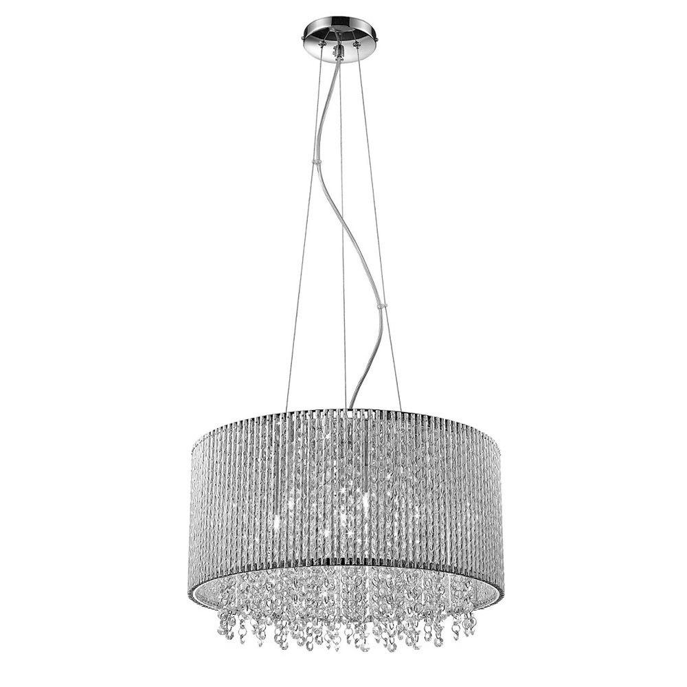 Moderní závěsná lampa Anabella G9 7 žárovka