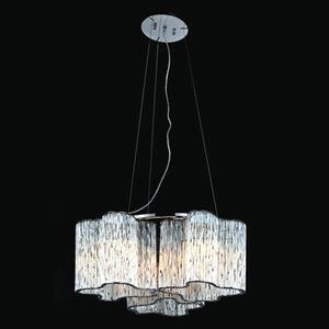 Klasická závěsná lampa Antonio E27, 3 žárovky small 2