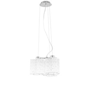 Klasická závěsná lampa Antonio E27, 3 žárovky small 3