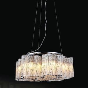 Klasická závěsná lampa Antonio E27, 6 žárovek small 0