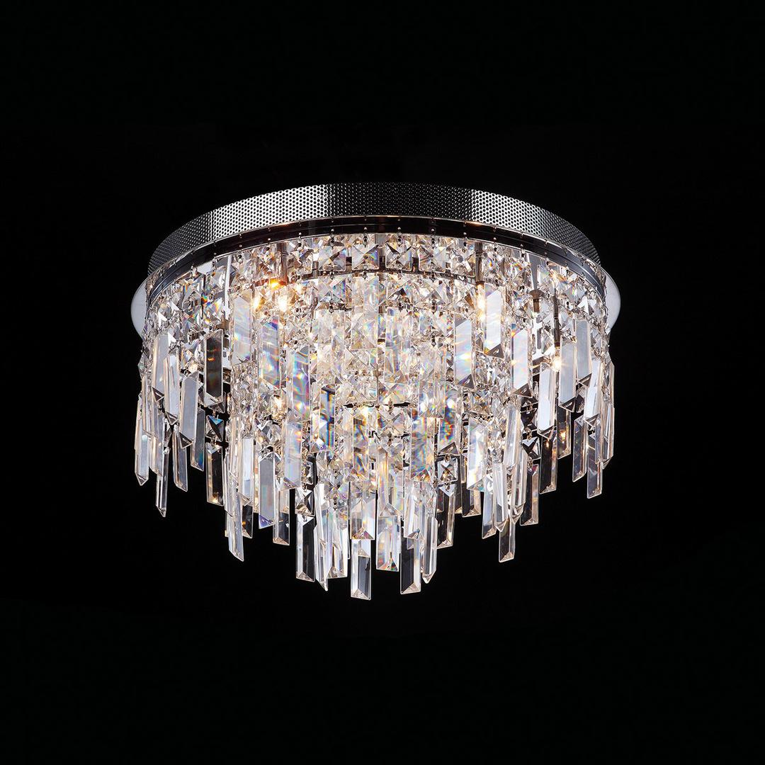 Klasické 10bodové stropní svítidlo Lavenda G4