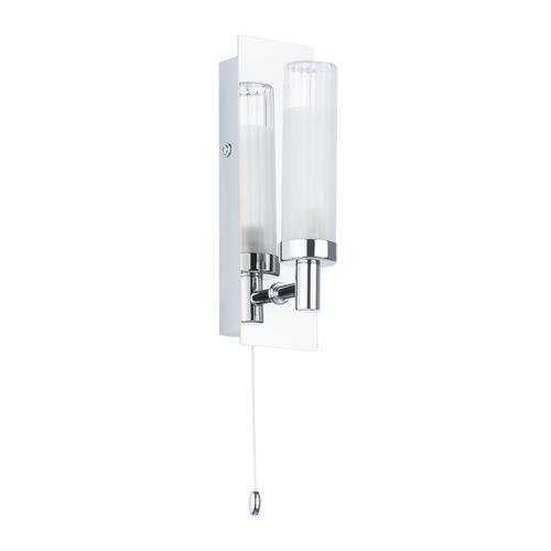 Moderní nástěnná lampa pro koupelnu Santos G9