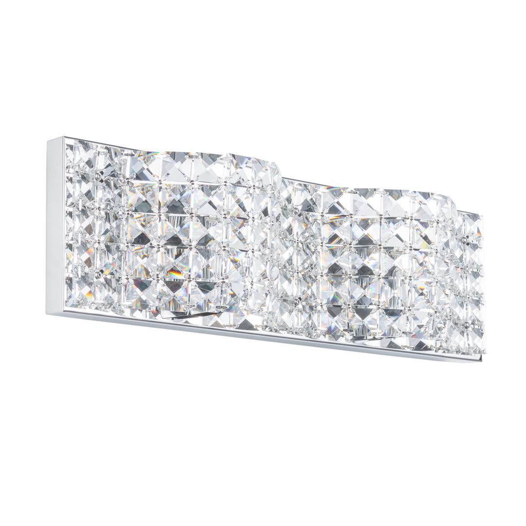 Moderní koupelnová nástěnná lampa Scarve G9 2 žárovky