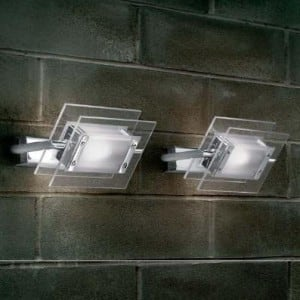 Nástěnná lampa Itre Leucos Trecentosessantagradi 120 75W G9 chrom small 2
