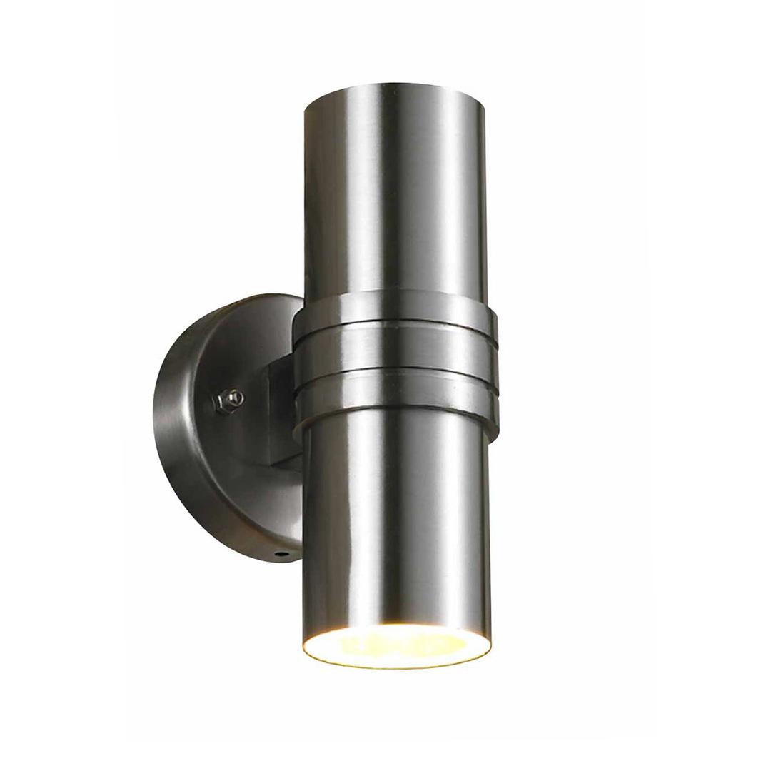 Moderní venkovní nástěnná lampa GU10 2bodová