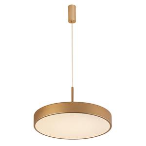 Zlatá orbitální LED závěsná lampa small 1
