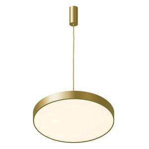 Zlatá orbitální LED závěsná lampa small 2