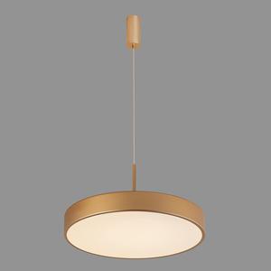 Zlatá orbitální LED závěsná lampa small 4