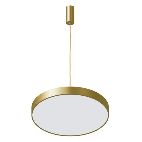 Zlatá orbitální LED závěsná lampa