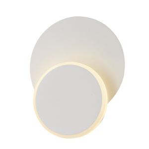Bílá moderní nástěnná lampa Senato small 1