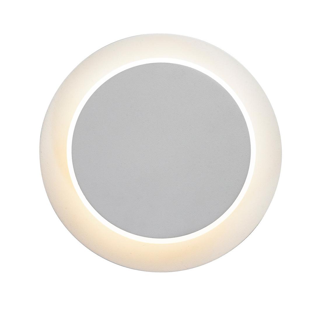 Bílá moderní nástěnná lampa Senato
