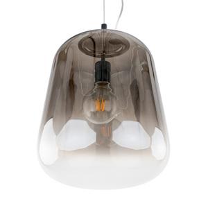 Kouřová závěsná lampa Lanila E27 small 3