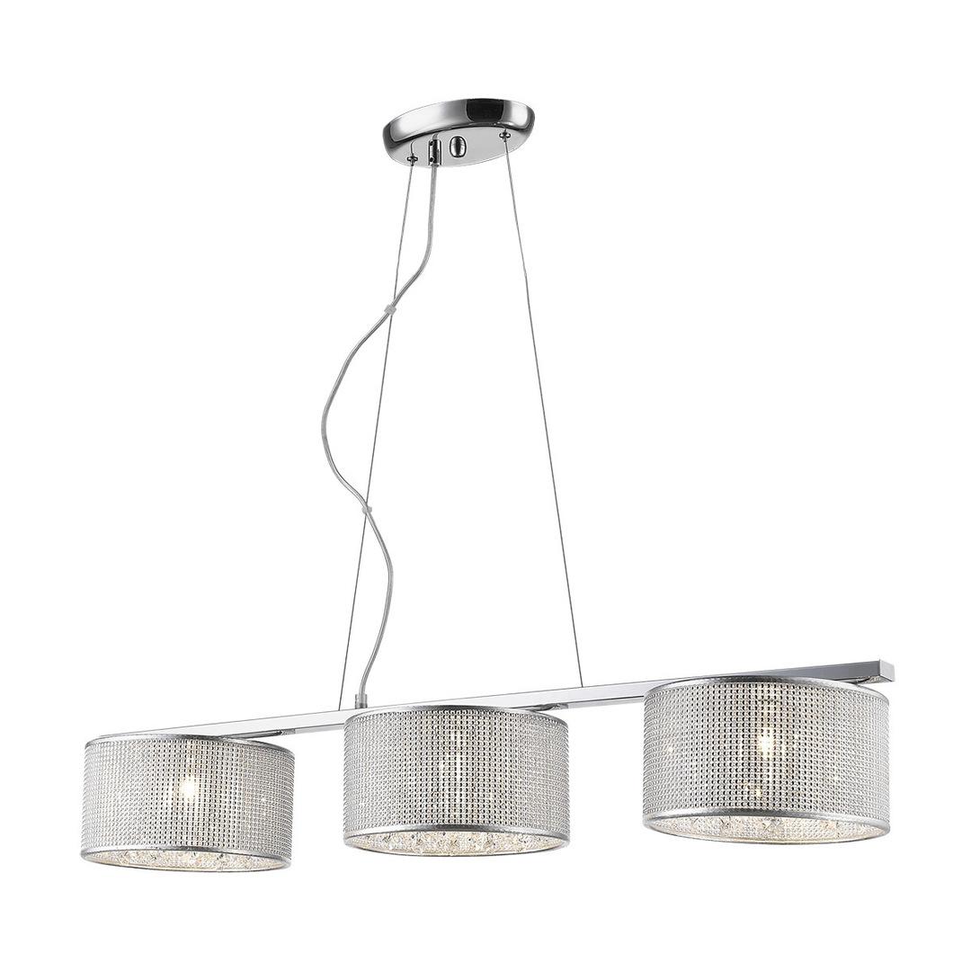 Moderní závěsná lampa Quartz G9 3 žárovky