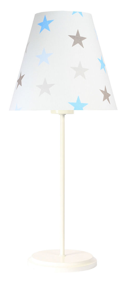 Lampa do chlapeckého pokoje Ombrello 60W E27 50cm hvězdy