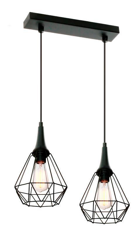 Designová závěsná lampa Lofta 2 L