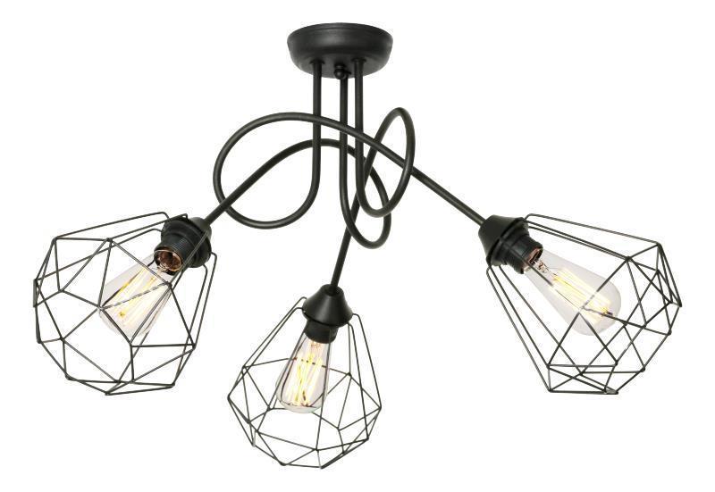 Moderní stropní lampa Lofta 3 B