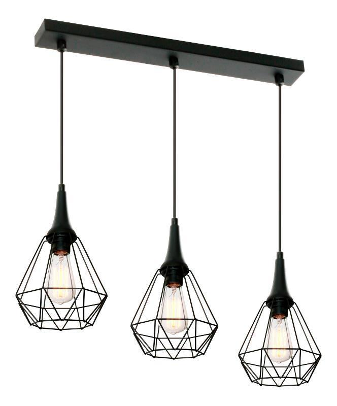 Designová závěsná lampa Lofta 3 L