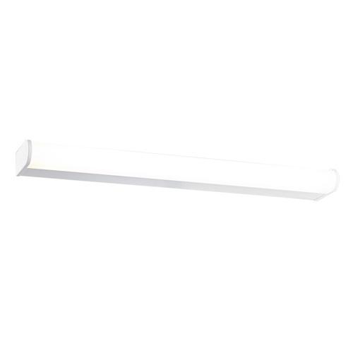 Moderní bílá nástěnná lampa Kantami LED