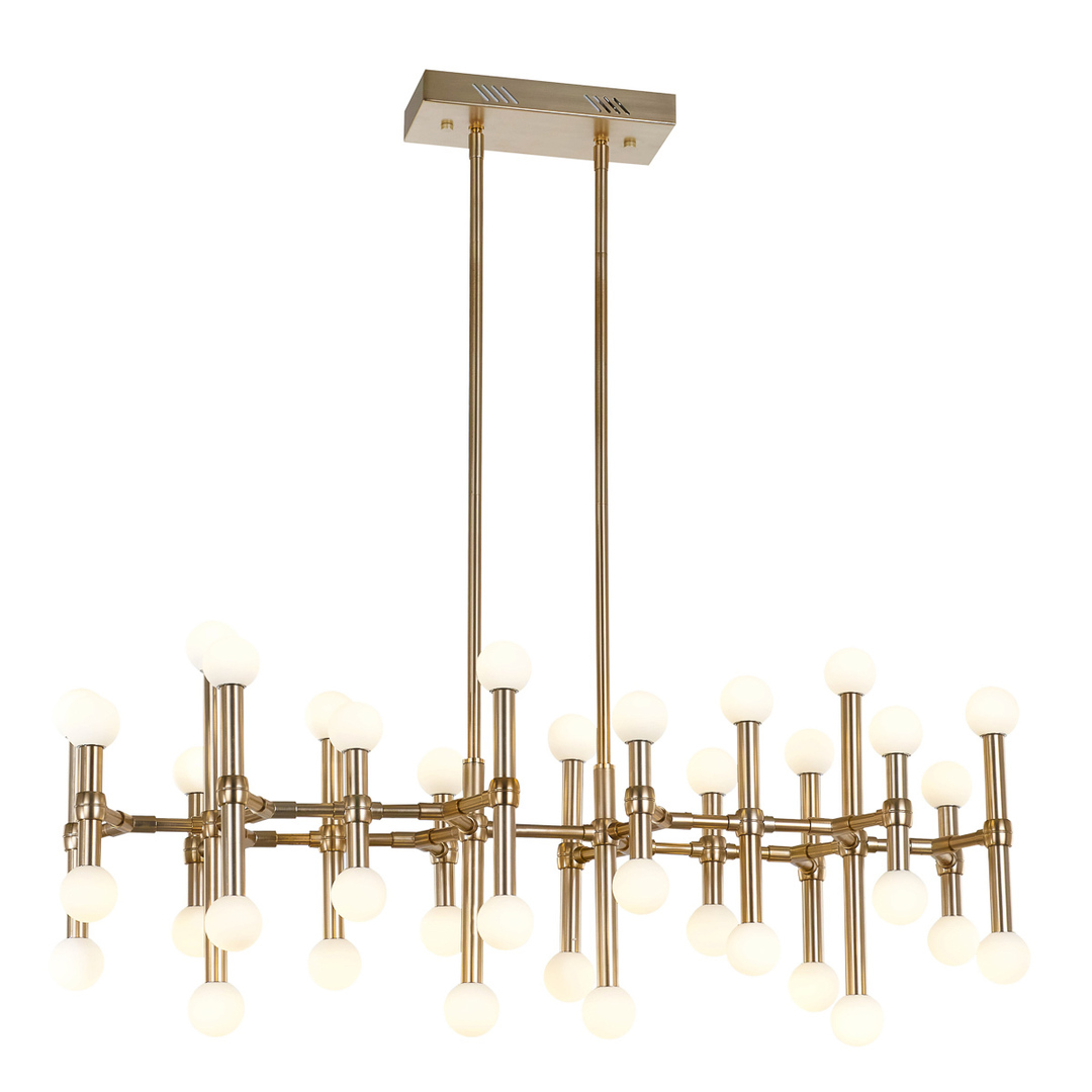 Bronzová závěsná lampa Giovanna LED