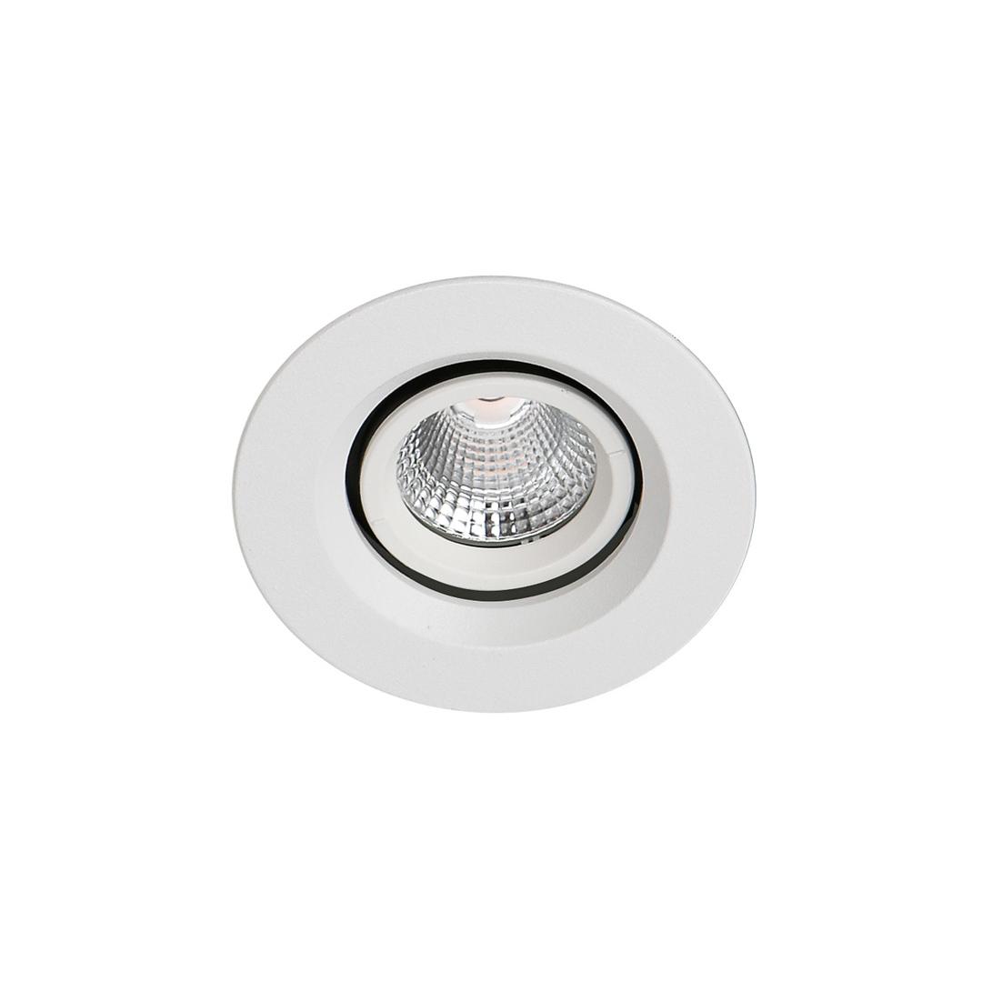 Moderní zapuštěná stropní lampa Torres upravuje IP44 LED