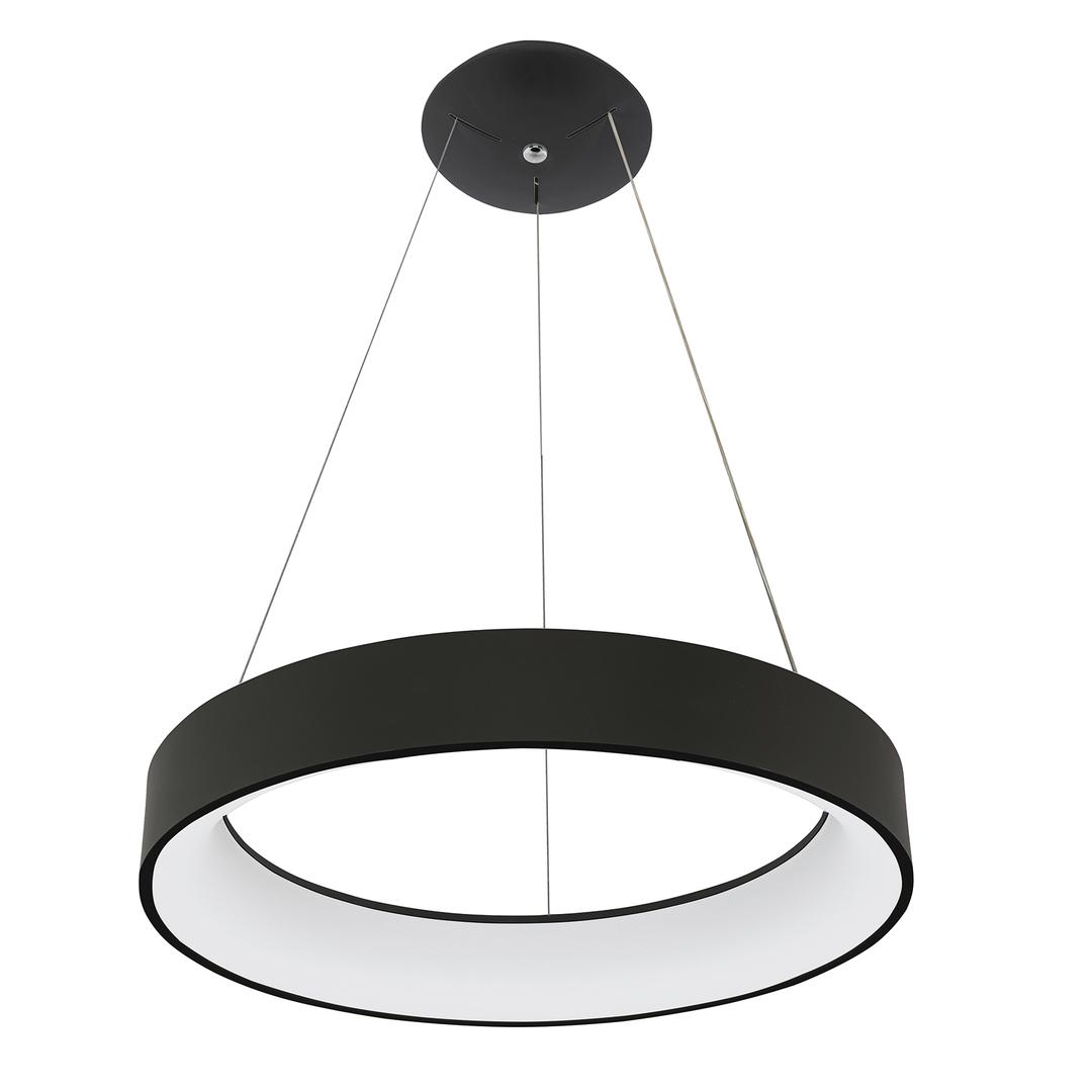 Černá závěsná lampa Chiara LED