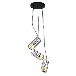 Černá závěsná lampa Coco G9, 3 žárovky small 1