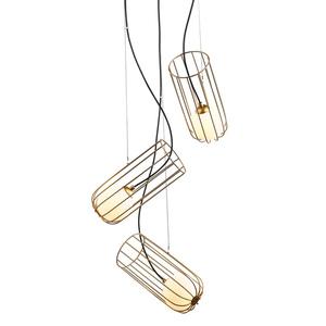 Moderní závěsná lampa Coco G9 3 žárovky small 0