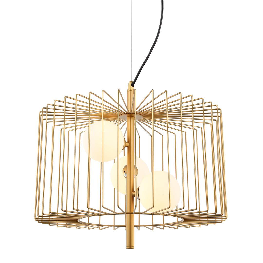 Moderní závěsná lampa Daren G9, 3 žárovky
