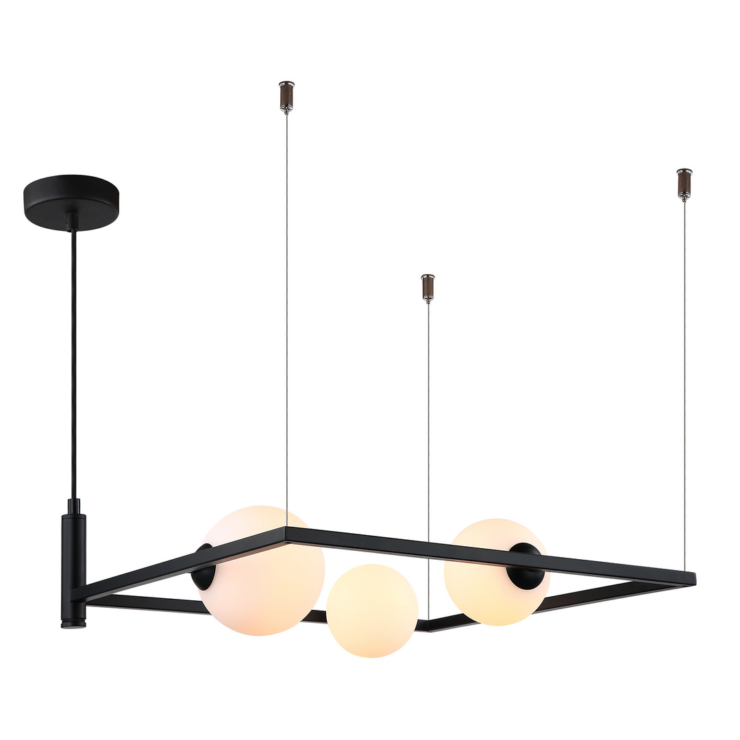 Moderní závěsná lampa Gareth G9 3 žárovky