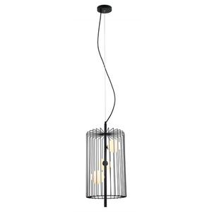 Černá závěsná lampa Hayden G9, 3 žárovky small 1
