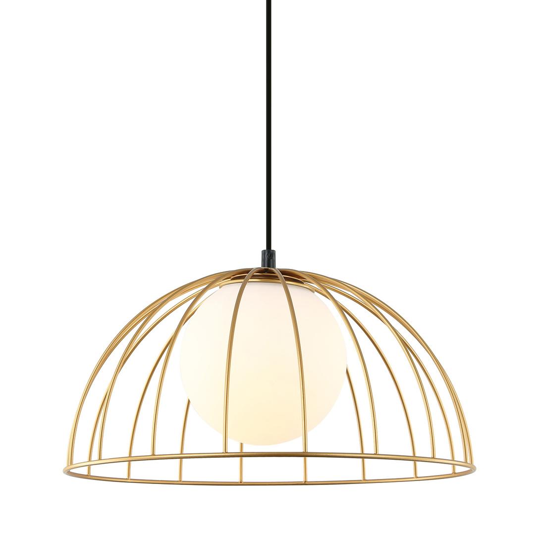 Moderní závěsná lampa Louis E27