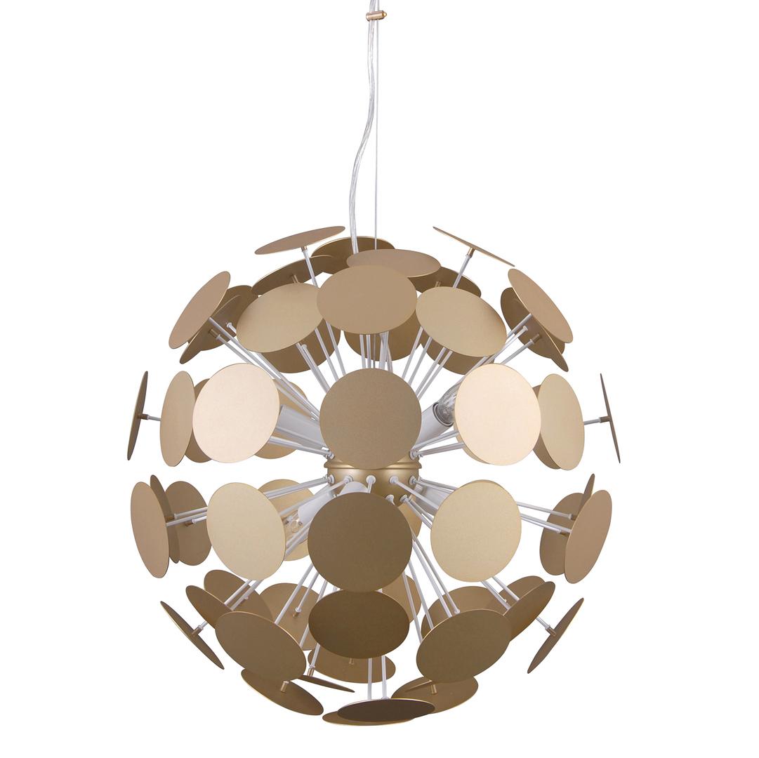 Moderní závěsná lampa Mailone E14 6 žárovka