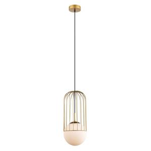 Zlatá závěsná lampa E27 small 1