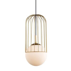 Zlatá závěsná lampa E27 small 0