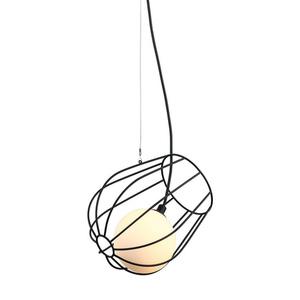 Černá závěsná lampa Melisa G9 small 0