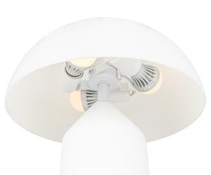 Bílá stolní lampa Mizuni White E27 3 žárovky small 2