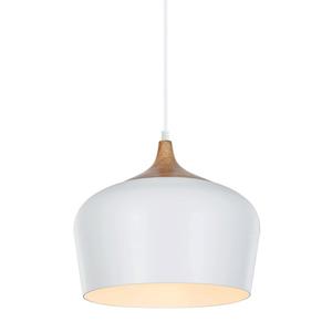 Bílé závěsné svítidlo Britta E27 small 0