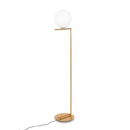 Mosazná stojací lampa Mondo E27