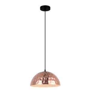 Černá závěsná lampa Rasto E27 small 1