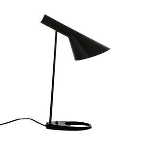 Černá stolní lampa Volta E27 small 5