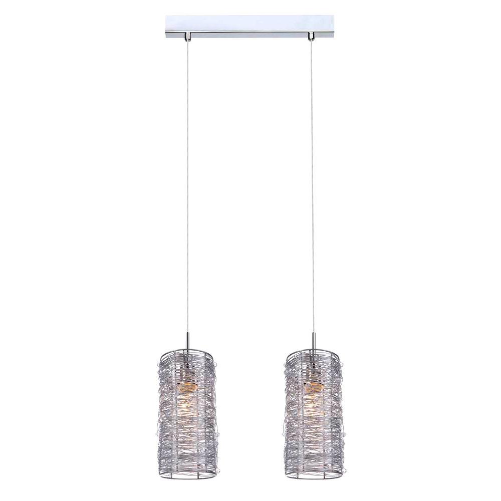 Moderní závěsná lampa Linton E14 2-žárovka