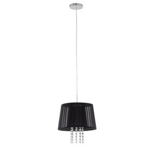 Černá závěsná lampa Luisa E14 small 1