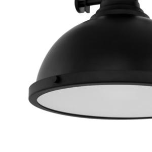 Černá závěsná lampa Maeva E27 small 4