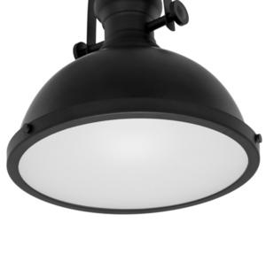 Černá závěsná lampa Maeva E27 small 5
